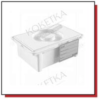 Контейнеры, емкости для стерилизации, лотки для хранения инструментов и фрез