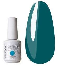 Gelish, гель-лак - Gargen Teal Party, № 01466, 15 мл.