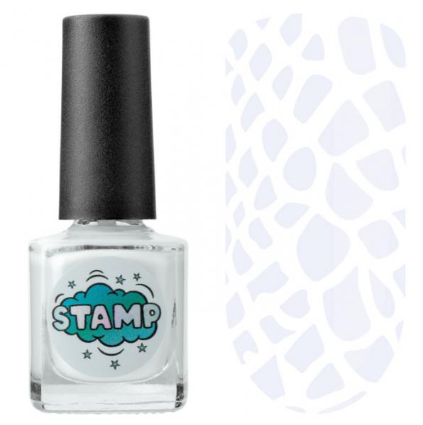 IRISK Лак-краска для стемпинга Stamp Classic, № 01, Полярный день, 8 мл.