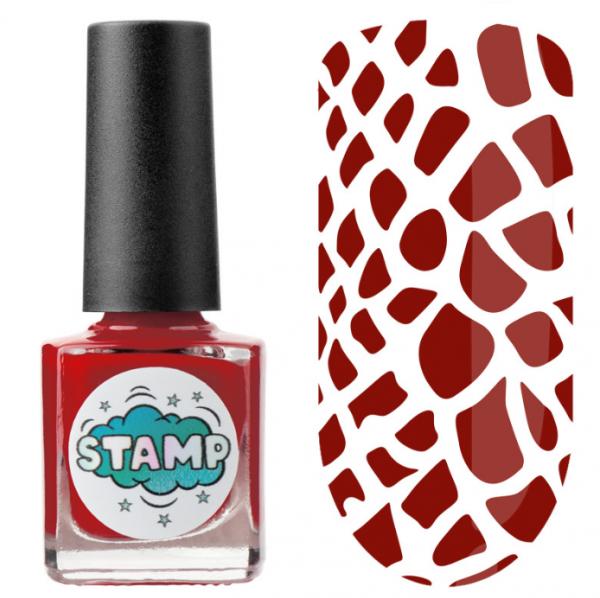 IRISK Лак-краска для стемпинга Stamp Classic, № 03, Дикая малина, 8 мл.