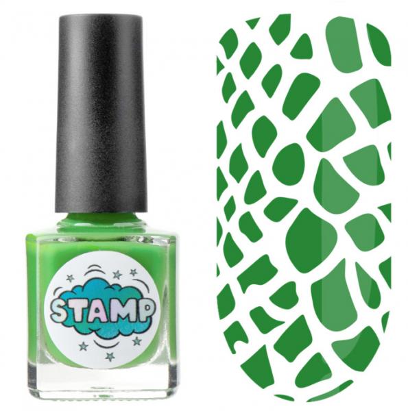 IRISK Лак-краска для стемпинга Stamp Classic, № 06, Весенний луг, 8 мл.