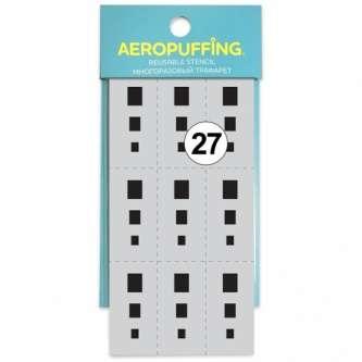 Aeropuffing многоразовый трафарет №27 (Прямоугольник)