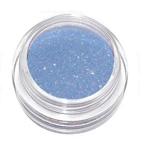Микроблестки 099 голубые с золотом