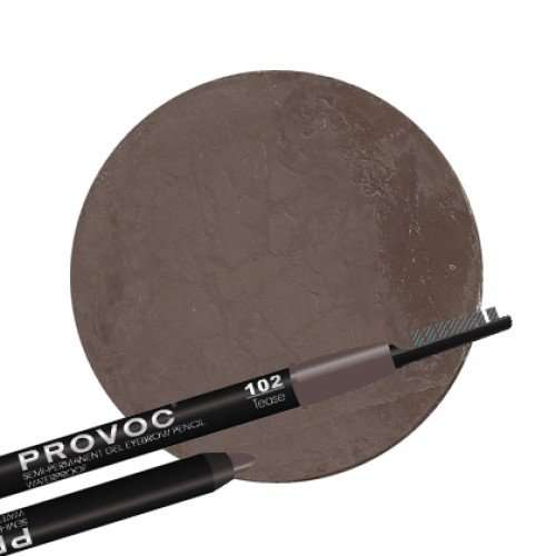 Provoc гелевый карандаш для бровей №102