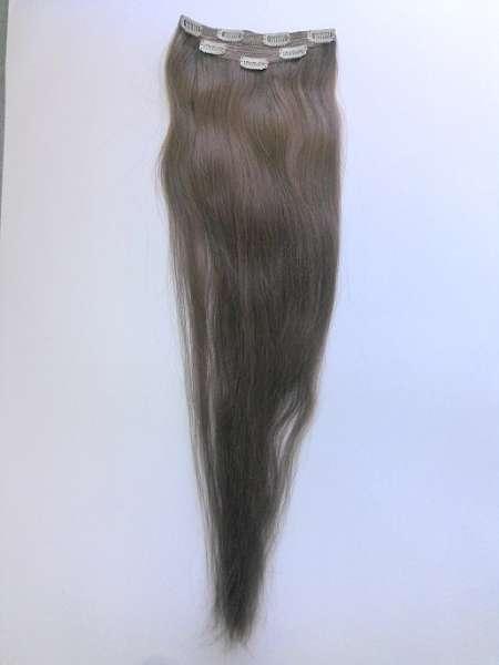 Славянские волосы на заколках  60 см (тон 8)