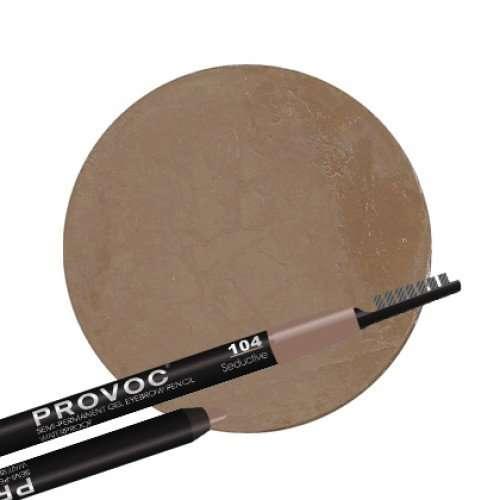 Provoc Гелевый карандаш для бровей №104