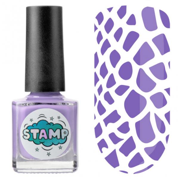 IRISK Лак-краска для стемпинга Stamp Classic, № 10, Королевский пурпур, 8 мл.