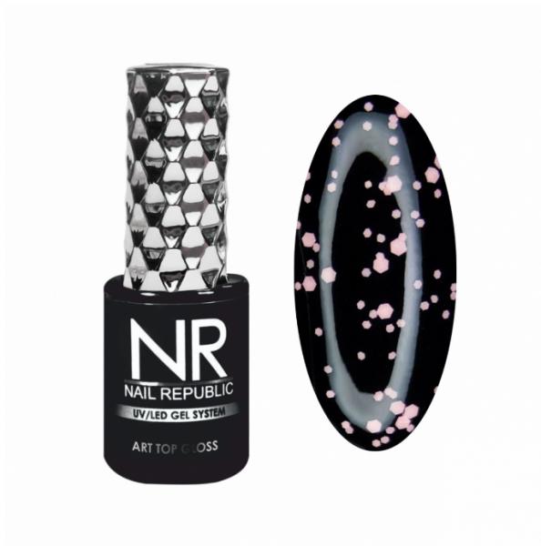 Nail Republic Art Top Gloss Топ без липкого слоя, глянцевый №10, 10 мл.