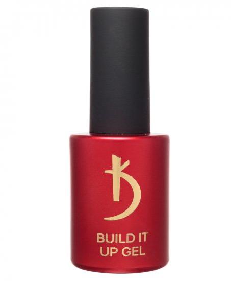 KODI Моделирующий гель с кисточкой для длинных ногтей Build It Up Gel Long Nails 15 мл.