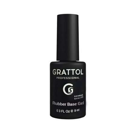 Grattol, База, Rubber base Gel Extra Cremnium, 9 мл.