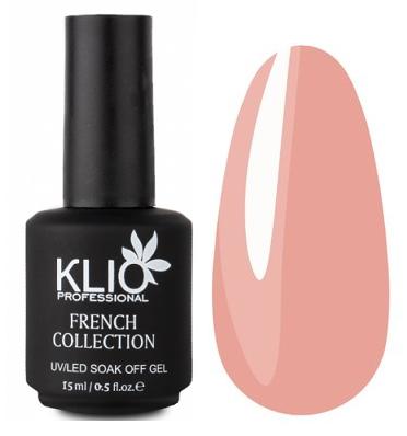 KLIO Professional French Collection камуфлирующий гел-лак № 12, 15 мл.