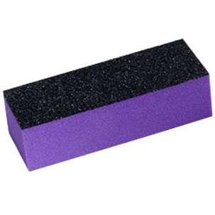 Баф шлифовальный трехсторонний, фиолетовый (240/100 грит)