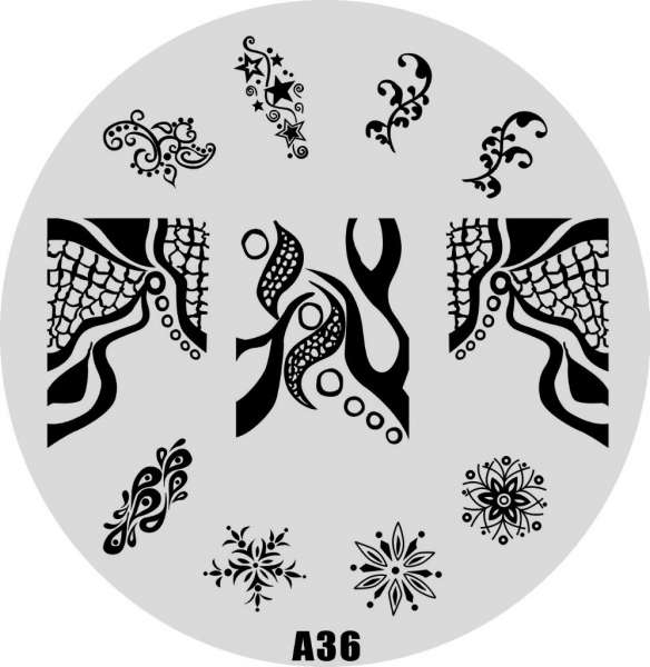 Stamping Пластина  № A 36