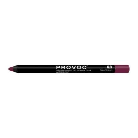 Provoc гелевый карандаш для губ №08