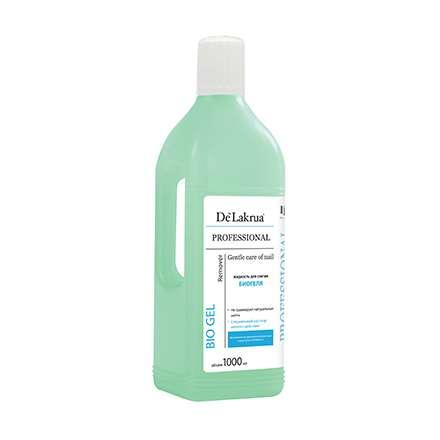 De Lakrua Professional - Жидкость для снятия биогеля, 1000 мл.