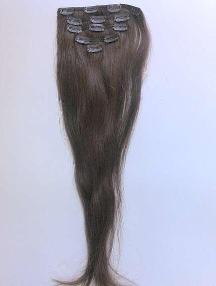 Славянские волосы на заколках  60 см (тон 57)