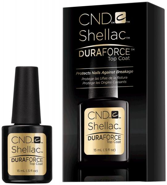 CND Shellac Duraforce Top Coat верхнее покрытие, 15 мл.