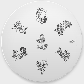 Stamping Пластина № М 54