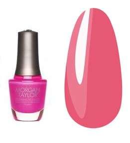 """Morgan Taylor -   Лак для ногтей №50154 """"Розовое пламя"""""""