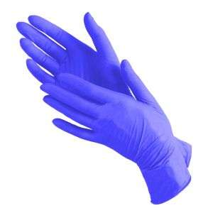 Mediok Перчатки нитриловые, черничные, размер S, 100 шт.