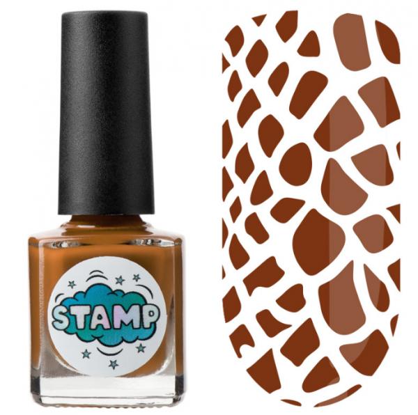 IRISK Лак-краска для стемпинга Stamp Classic, № 16, Терракотовая амфора, 8 мл.