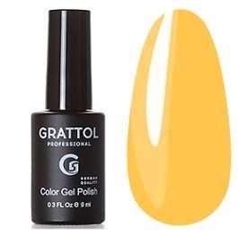 Grattol, Гель-лак № 178 Yellow Musturd, 9 мл