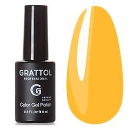 Grattol, Гель-лак № 179 Yellow Sand, 9 мл