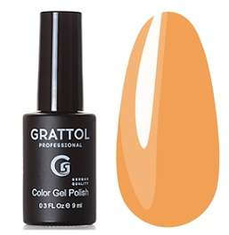 Grattol, Гель-лак № 183 Yellow Orange, 9 мл