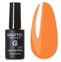 Grattol, Гель-лак № 184 Orange Sherbet, 9 мл