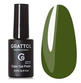 Grattol, Гель-лак № 191 Olive, 9 мл