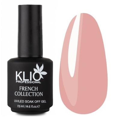 KLIO Professional French Collection камуфлирующий гел-лак № 1, 15 мл.