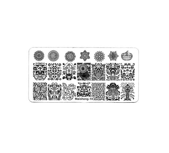 Stamping Пластина MaiSheng-10