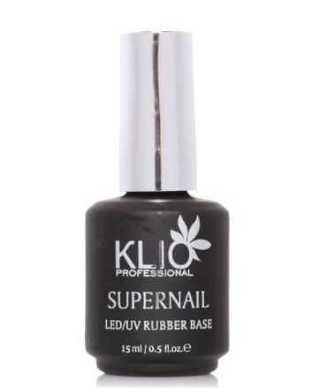 KLIO Professional База каучуковая SUPERNAIL, 15 мл.