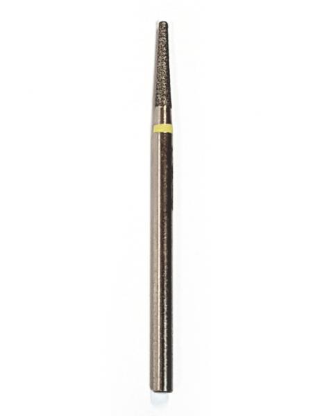 """Фреза алмазная """"Конус закругленный"""" D=1,4 мм., желтая № 60"""