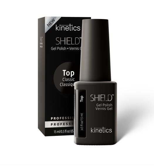 Kinetics Топ без липкого слоя SHIELD Classic Top Coat, 15 мл.