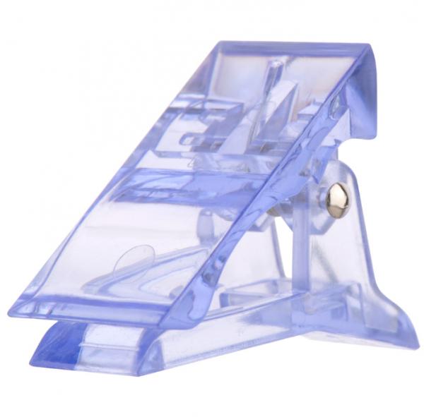IRISK Зажим-прищепка для фиксации верхних форм, синяя, 1 шт.