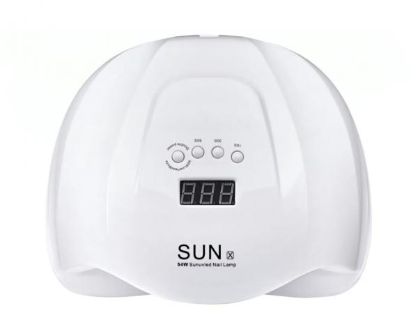 SUN X, Лампа LED/UV, белая, 54 Вт.