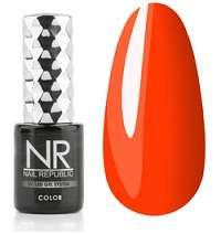 Nail Republic  Гель-лак Янтарно-оранжевый  № 233, 10 мл