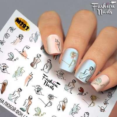 Fashion Nails, слайдер-дизайн, M 283