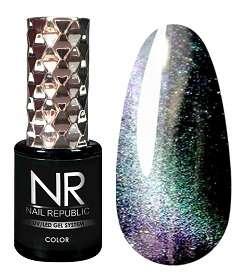Nail Republic  Гель-лак CAT-30, 3D Mint lilac, 10 мл.
