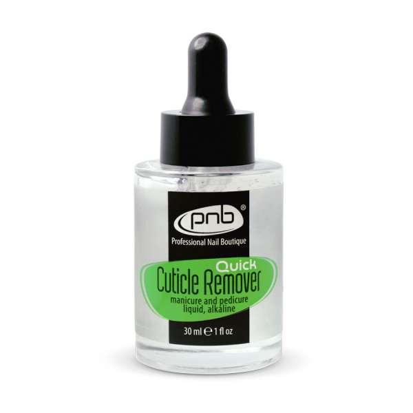 PNB Quick Cuticle Remover гель для удаления кутикулы, 30мл