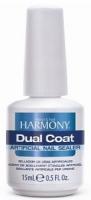 Harmony Dual Coat, 15 ml - верхнее покрытие для защиты акриловых ногтей, 15 мл