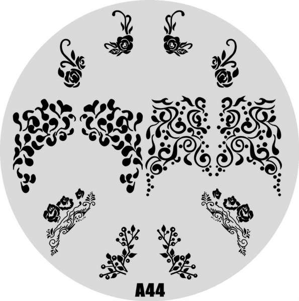 Stamping Пластина  № A 44
