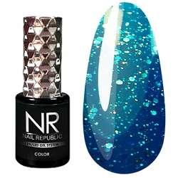 Nail Republic  Гель-лак Мерцающий полуночный синий № 461, 10 мл