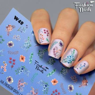 Fashion Nails, слайдер-дизайн, W48