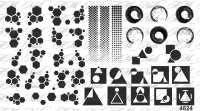 """Ami_nails Слайдер-дизайн """"Геометрия"""" № 4824"""