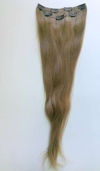 Славянские волосы на заколках  60 см (тон 7)