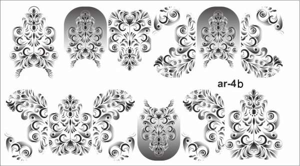 Ami_nails Слайдер-дизайн, № ar-4 b