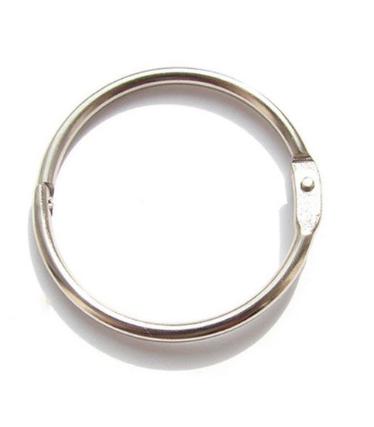 Кольцо для палитры стальное, диаметр 85 мм.
