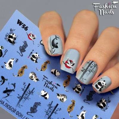 Fashion Nails, слайдер-дизайн, W56